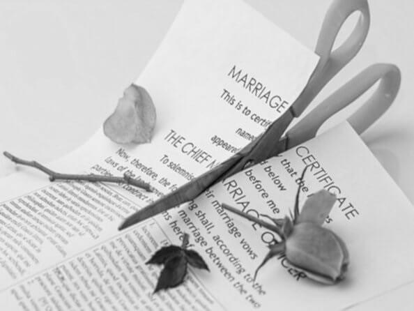 Scheidung auf britisch